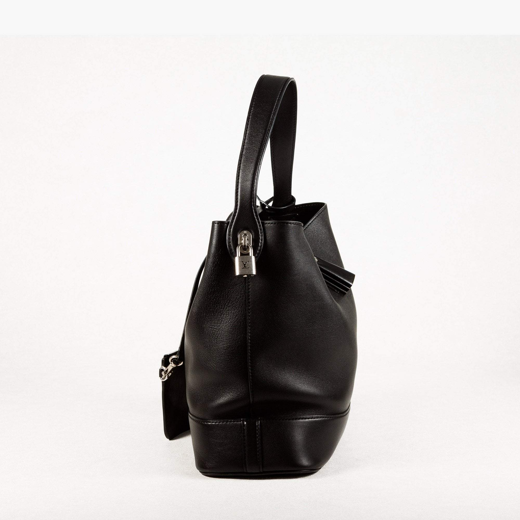 Louis Vuitton Idole Black Canvas Bucket Bag