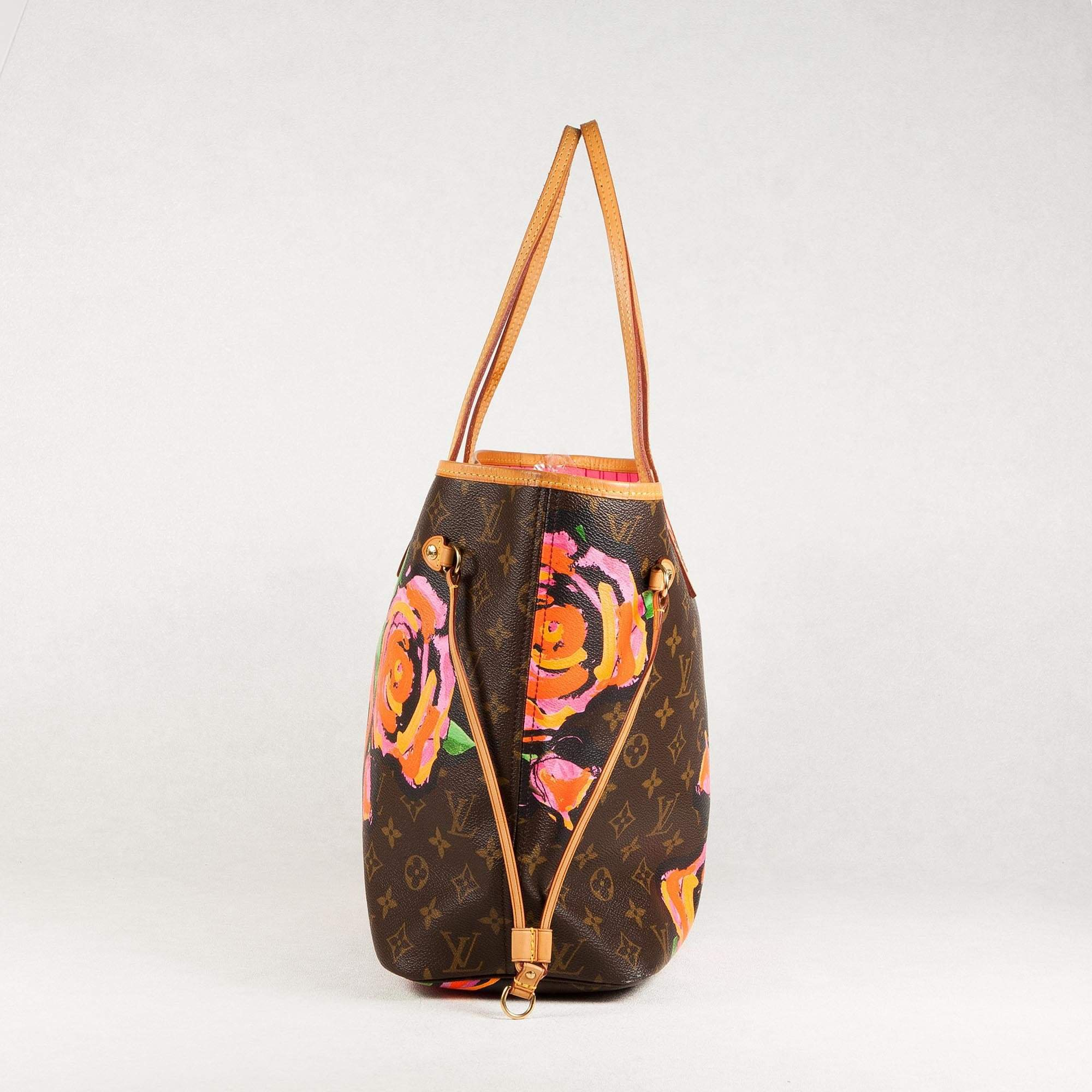 Stephen Sprouse Roses Neverfull