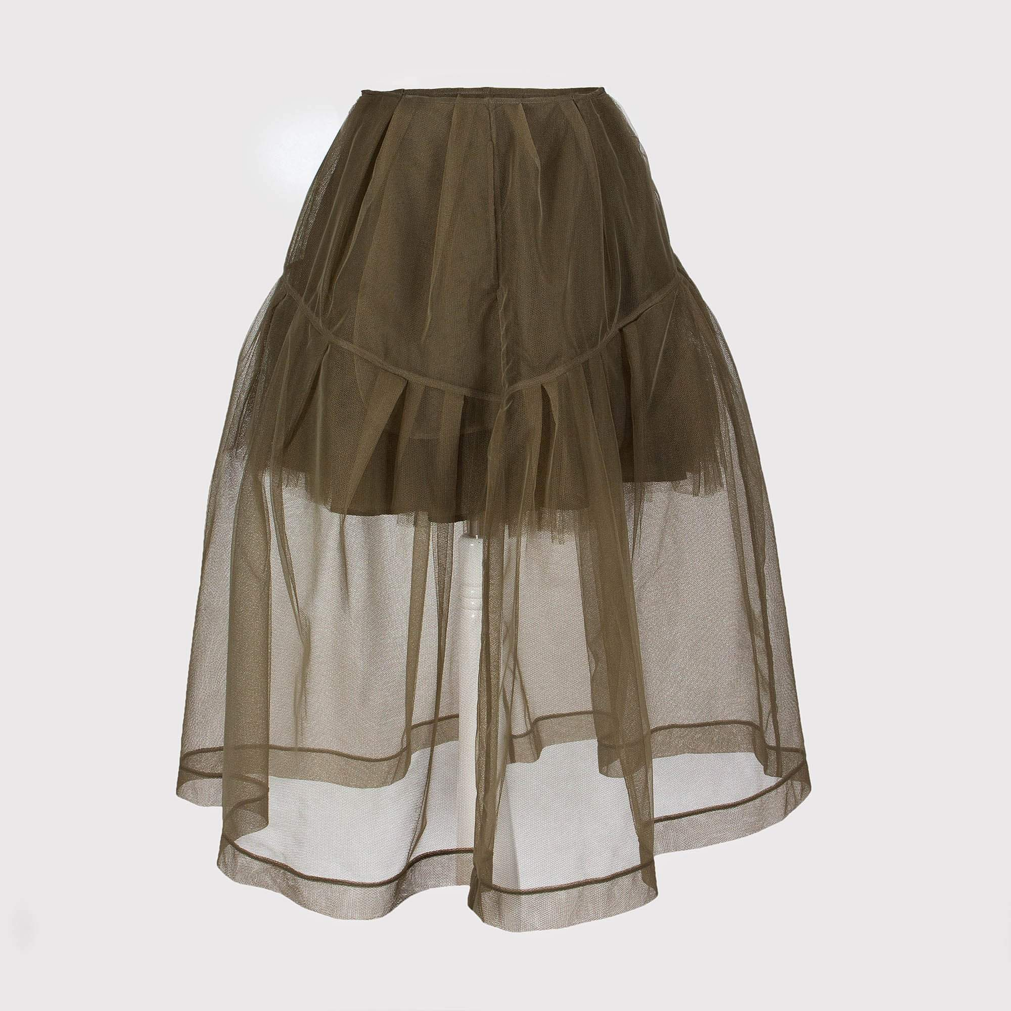 Simone Rocha Petticoat Sheer Trim Detail Skirt