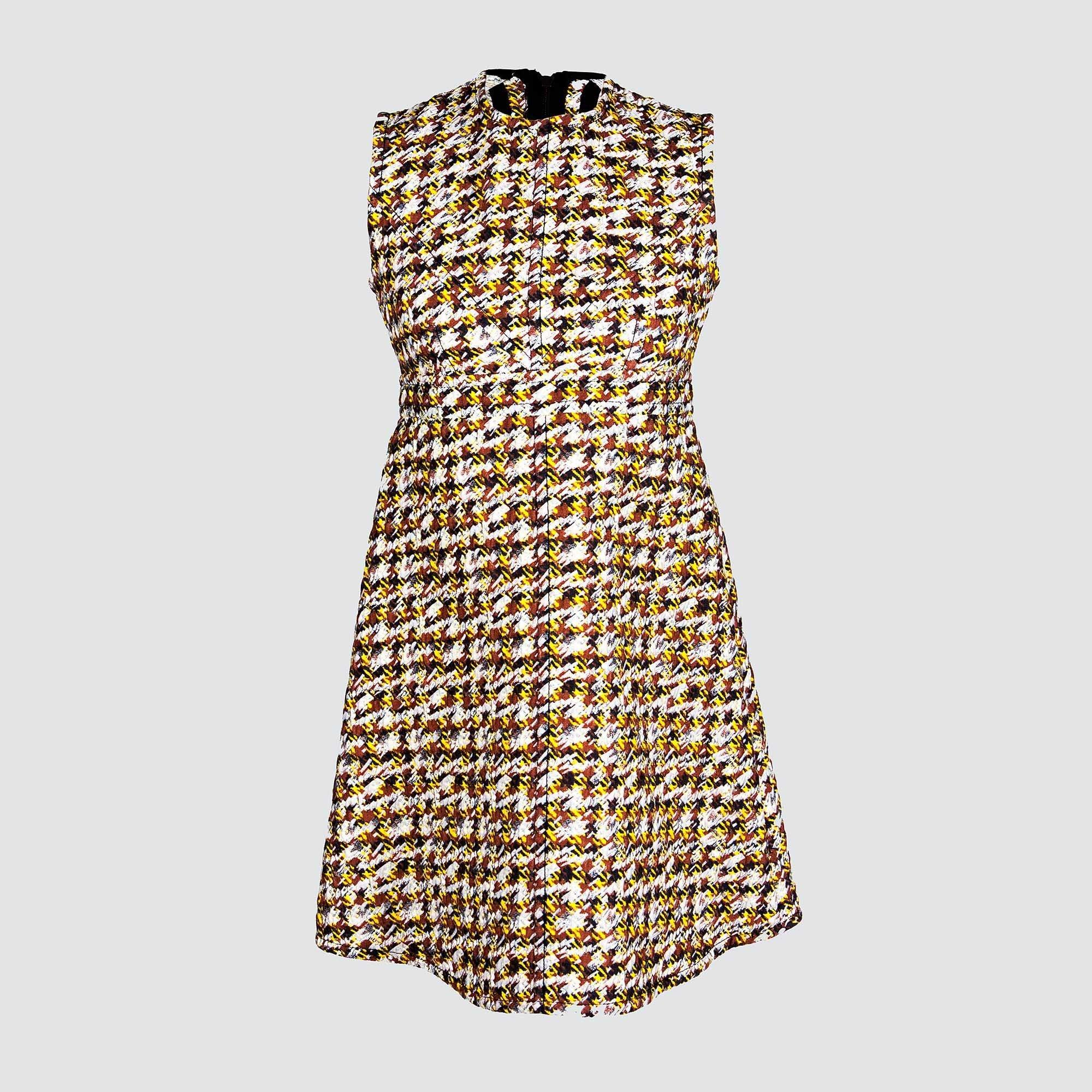 Louis Vuitton Knit Patterned Dress