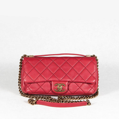 Chanel Quilted Leather Bag