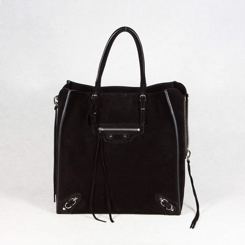 Balenciaga Mini Papier A4 Zip Around Tote Bag