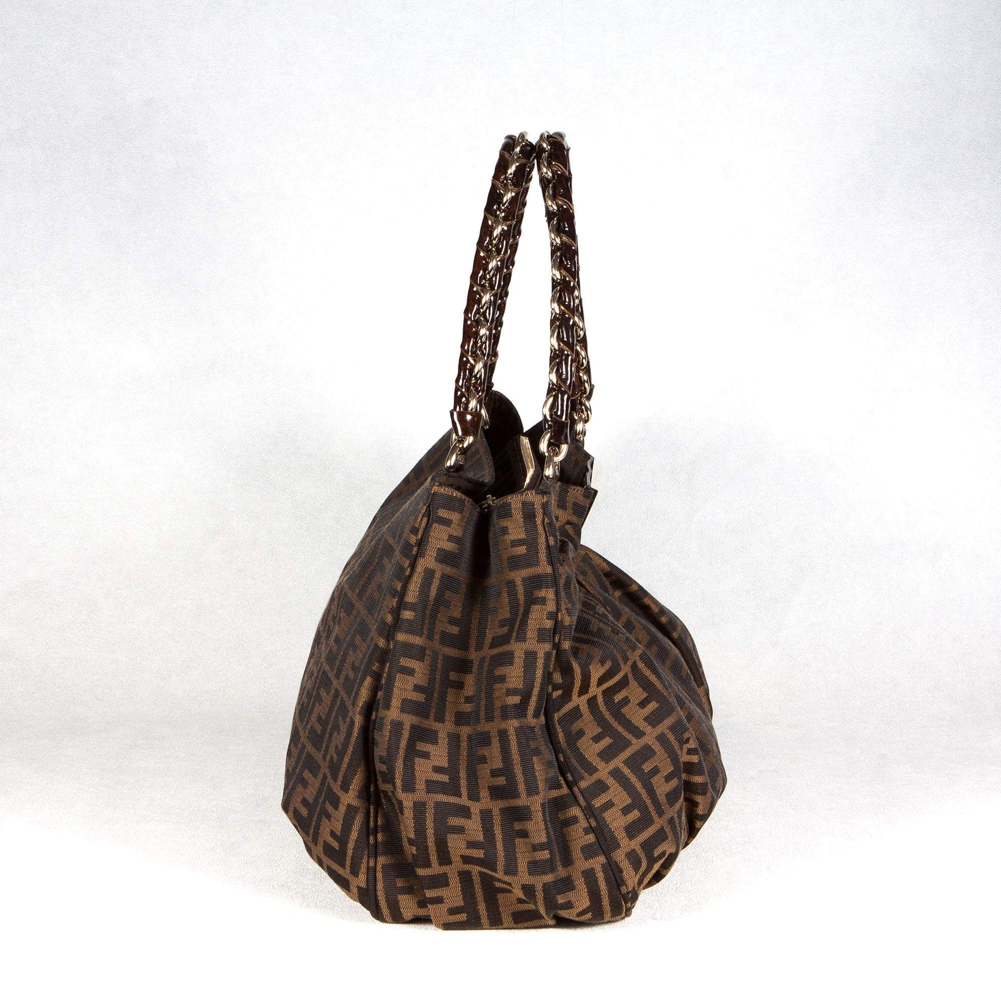 Fendi Logo Signature Handbag