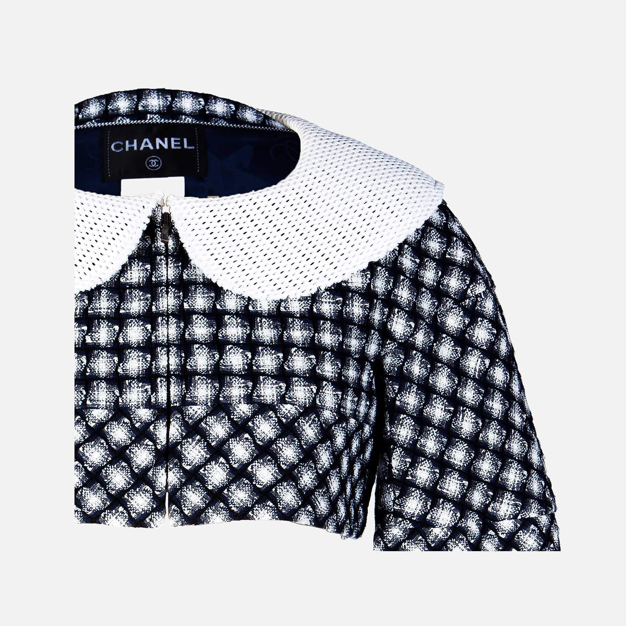 Chanel Tweed Bolero