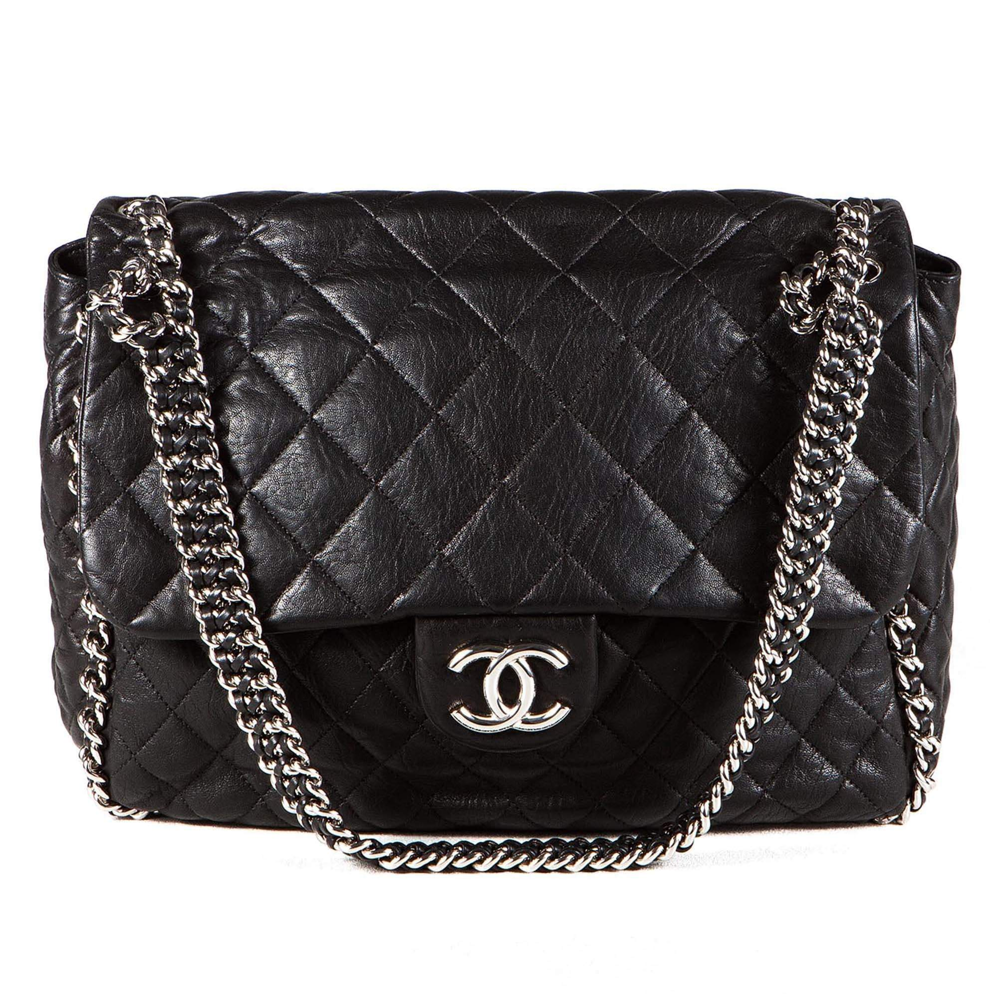 Chanel Maxi Chain Around Bag