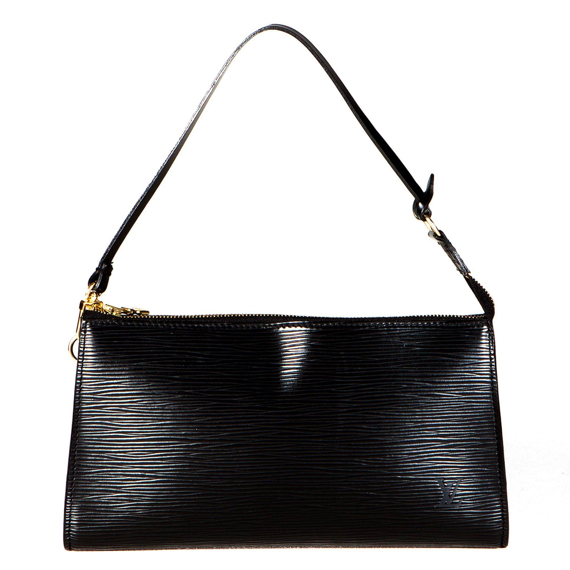 Louis Vuitton Black Epi Leather Pochette