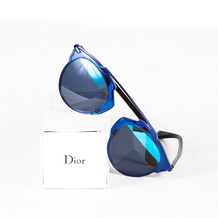 Christian Dior Blue So Real Pantos Sunglasses