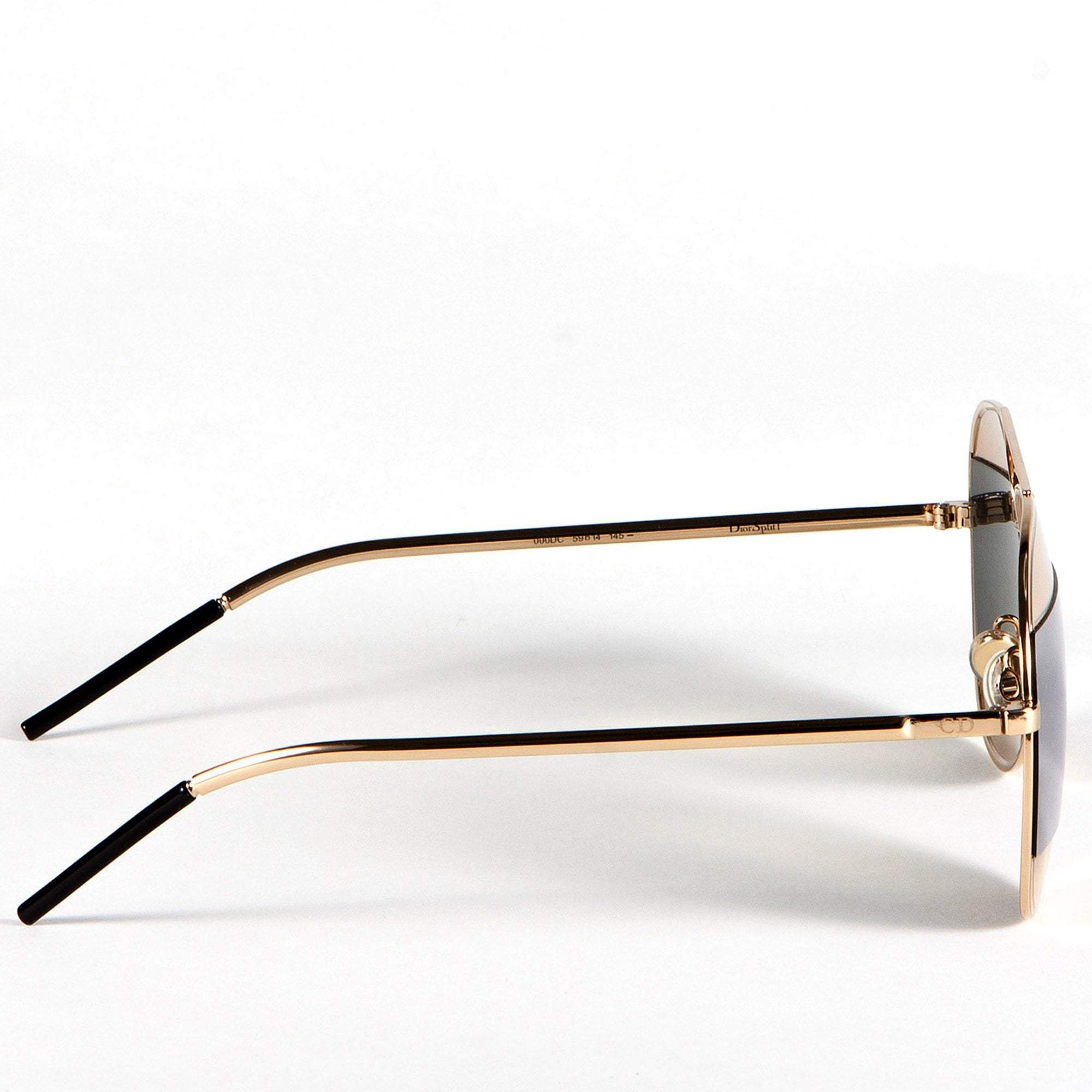 Christian Dior Split aviator sunglasses