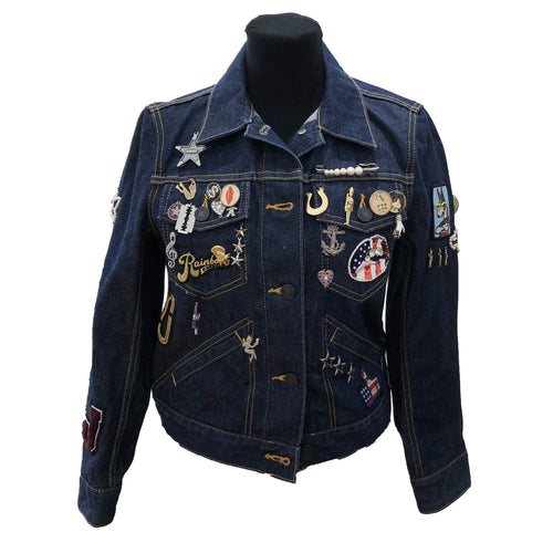 Marc Jacobs Embellished Denim Jacket