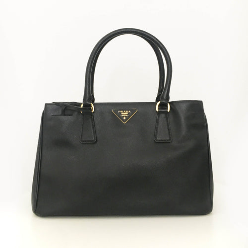 Prada Saffiano Black Hand Bag