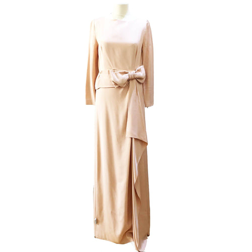 Prada Long Dress with Bow