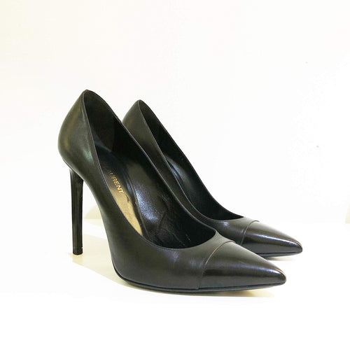 Saint Laurent Paris Cap Toe Pump