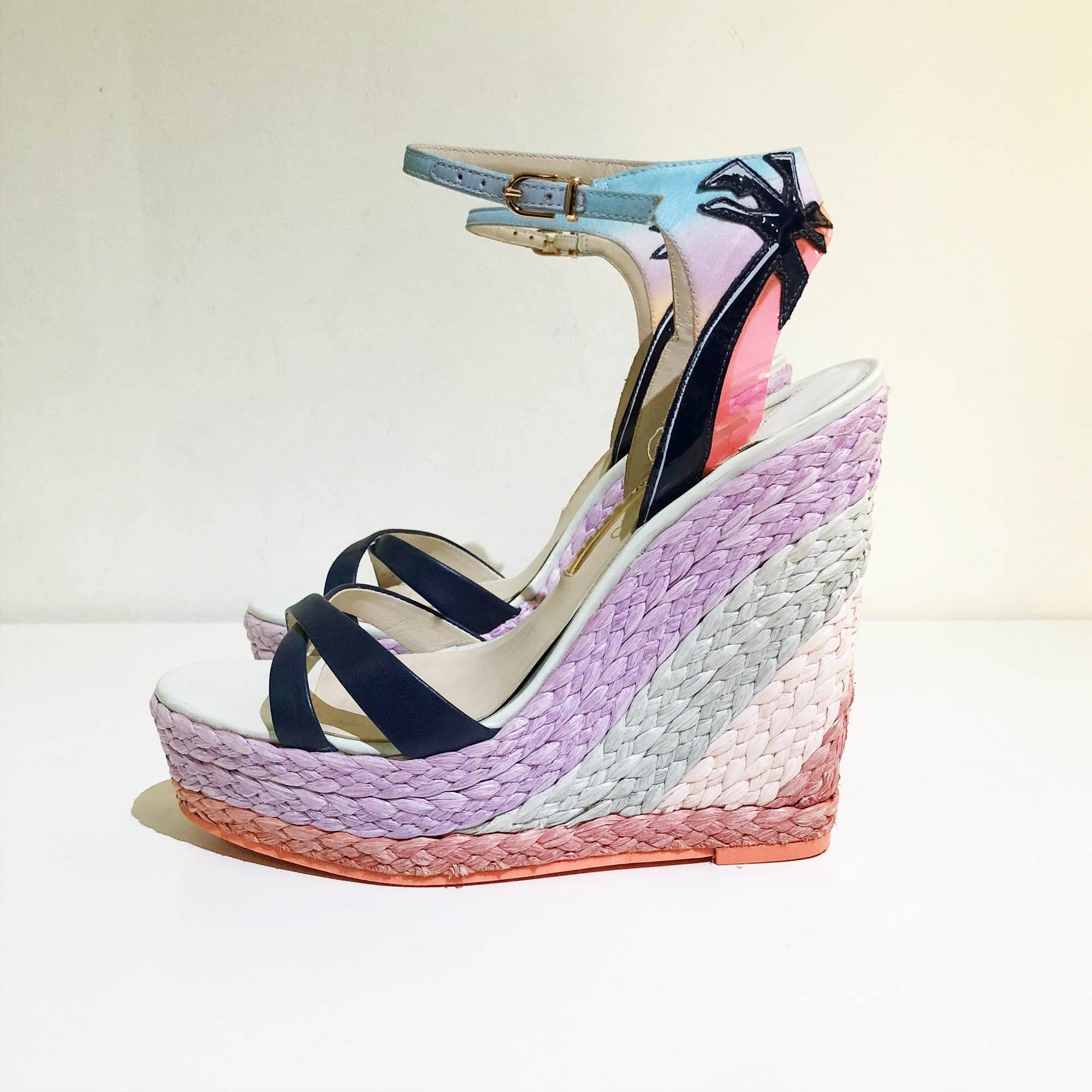 Sophia Webster Espadrille Wedge Sandal