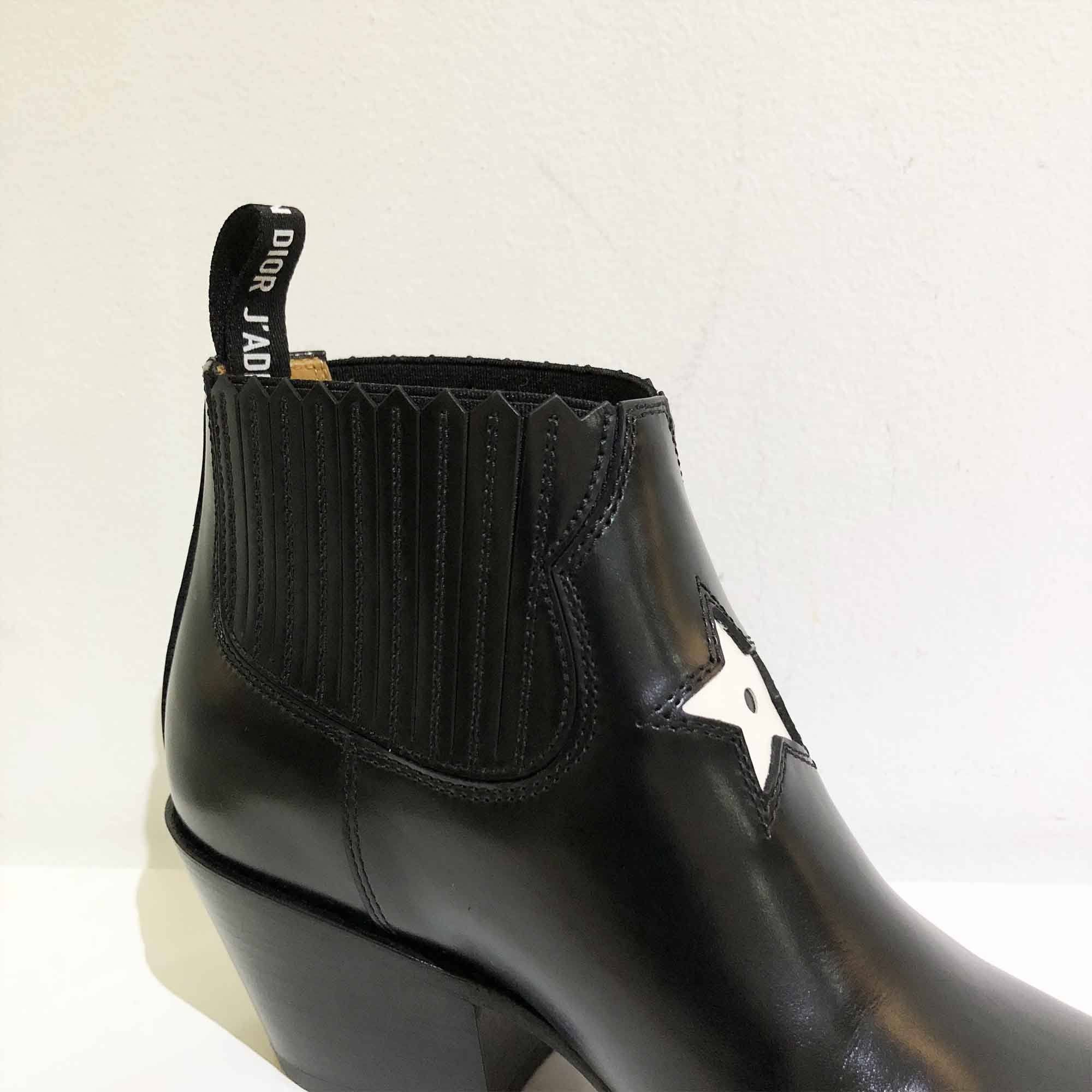 Christian Dior Texan-Style Ankle Boots