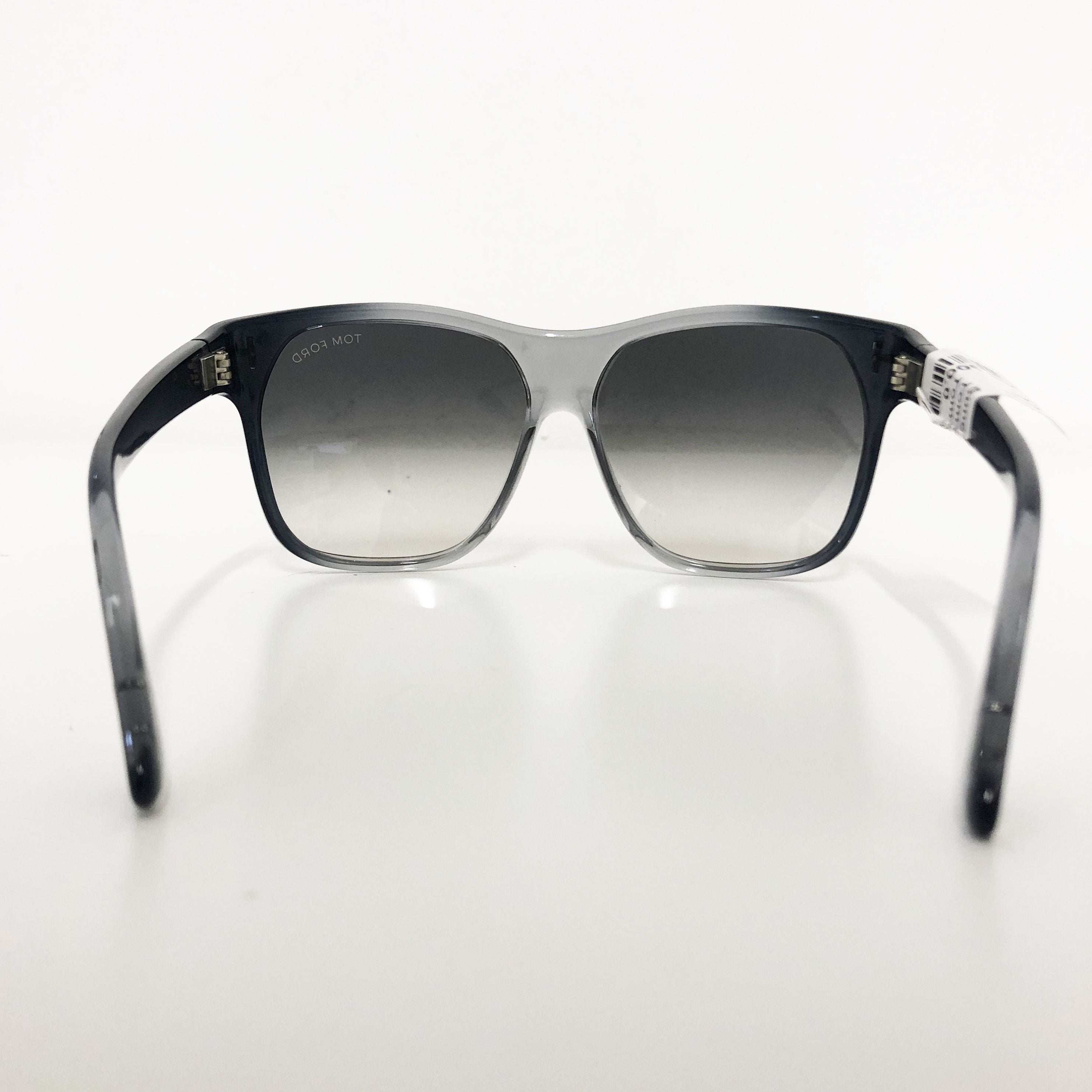 Tom Ford Grey and Black Gradient Sunglasses