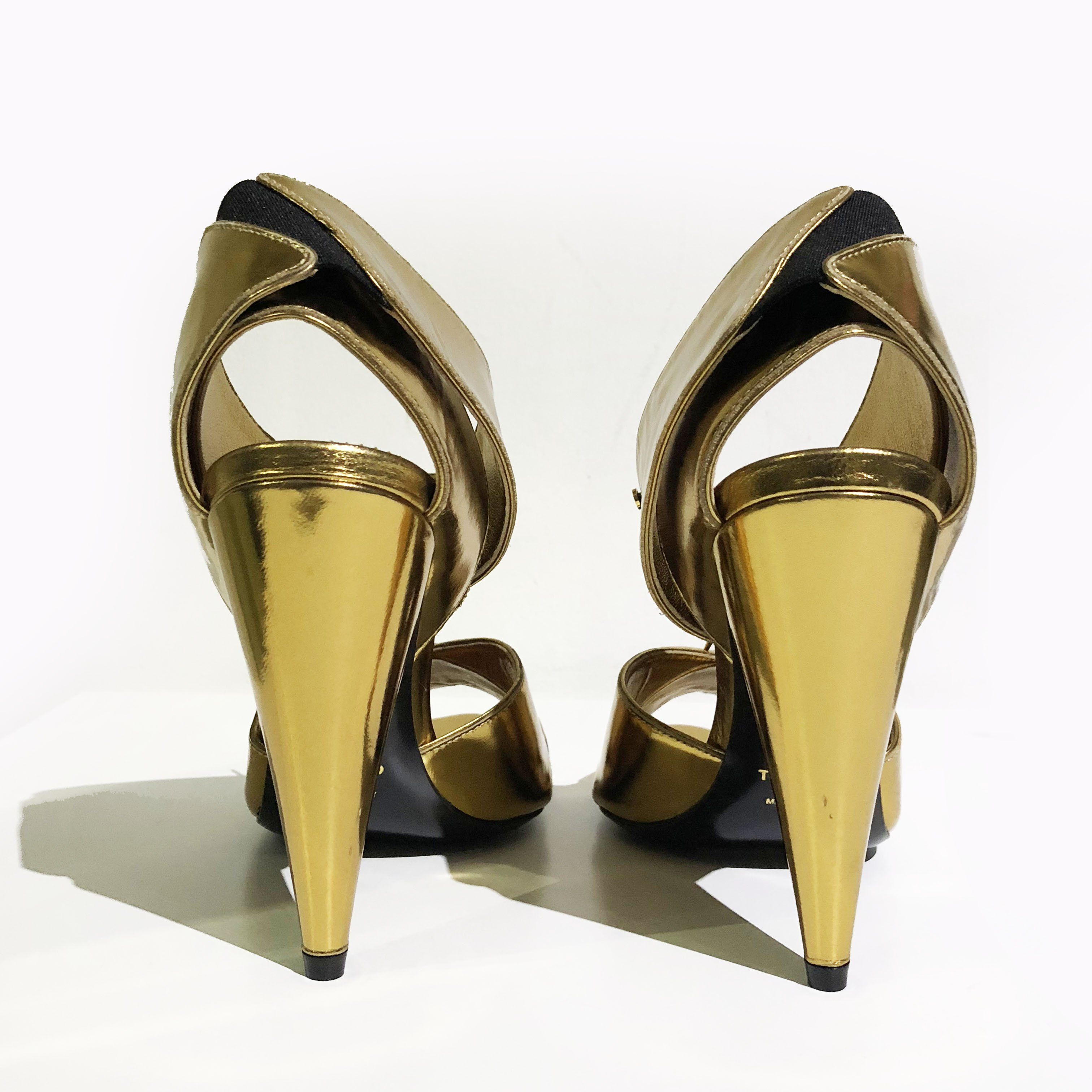 cuff gold cross sandal garderobe criss ankle heels products ford tom