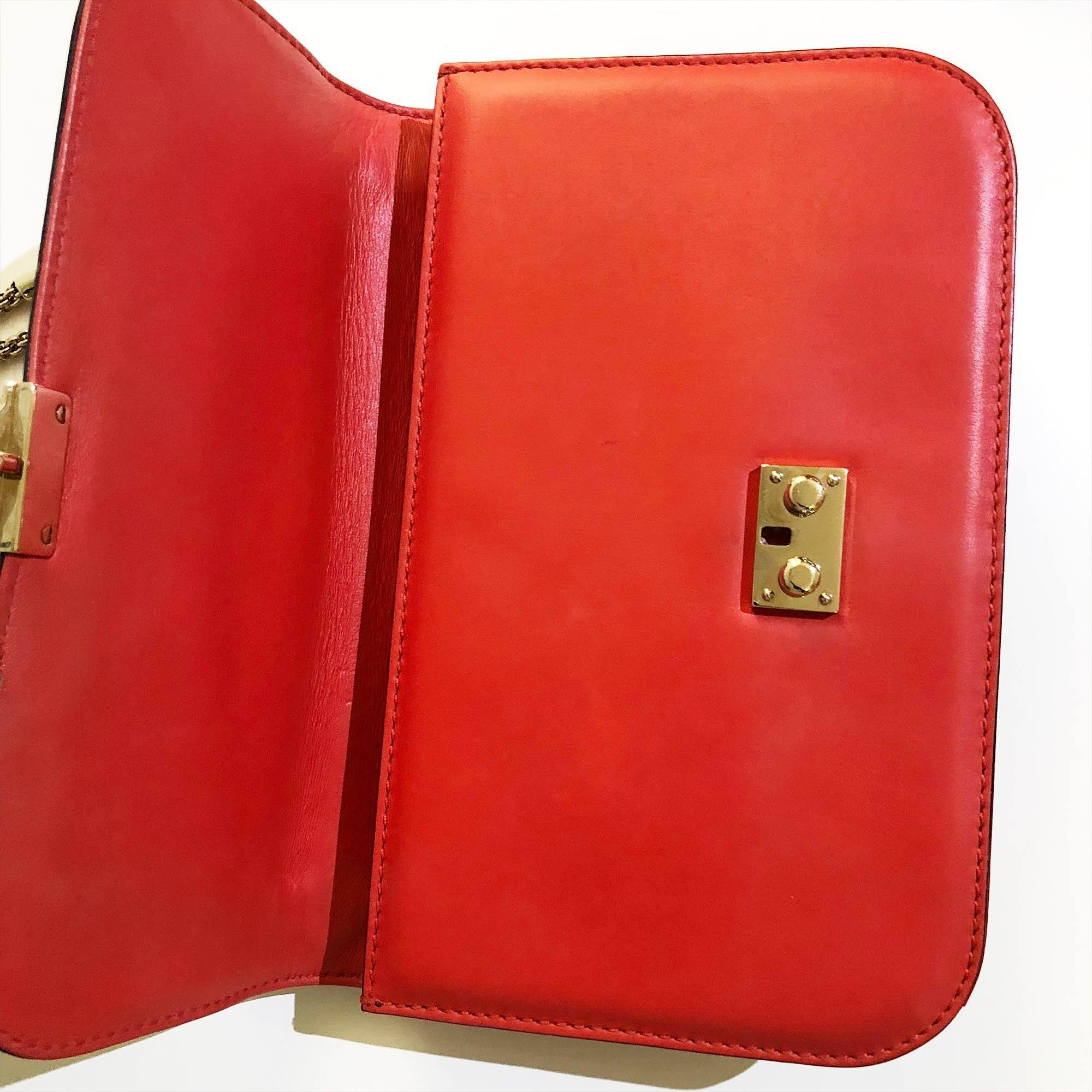 Valentino Garavani Red Lock leather shoulder bag