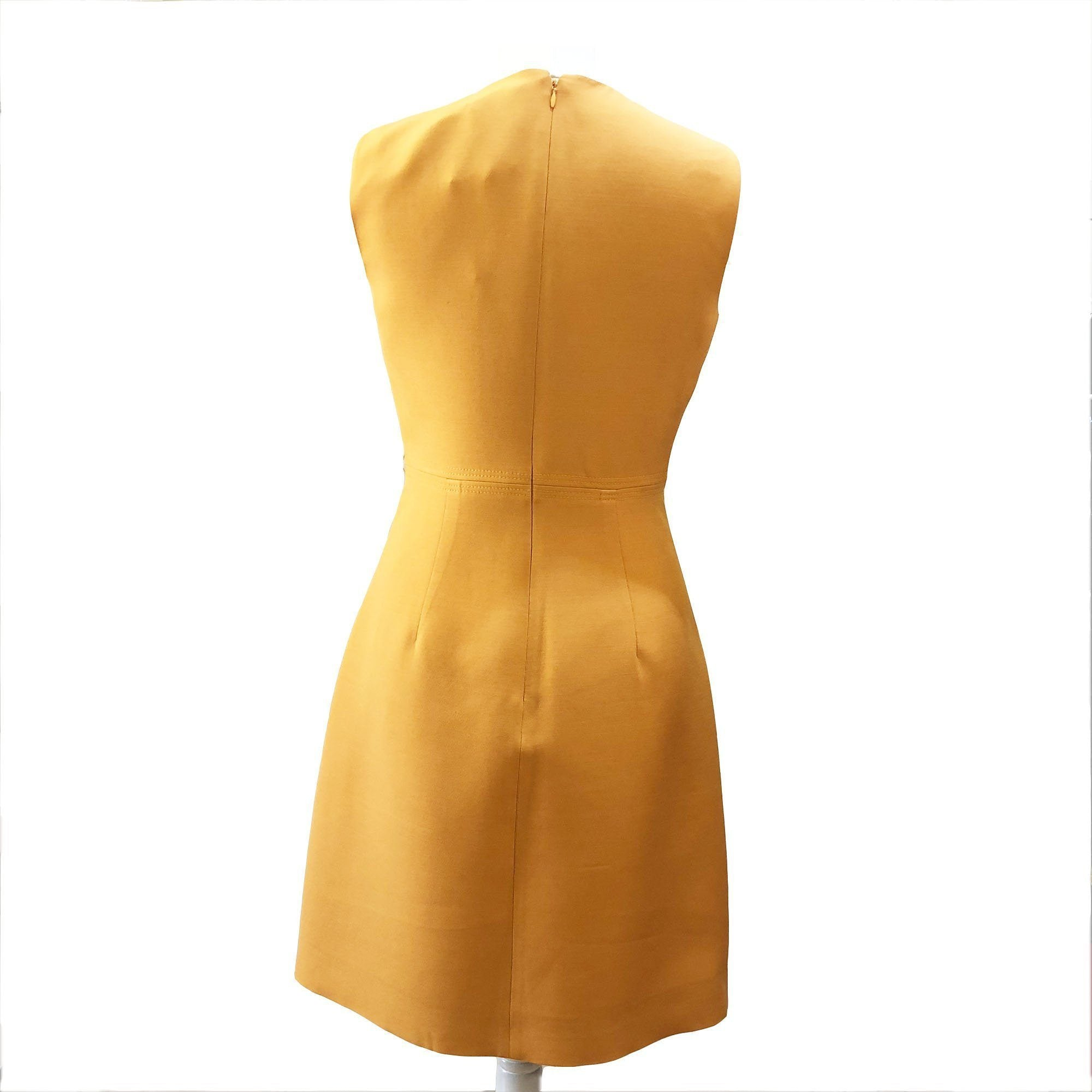 Valentino Mustard Yellow Dress