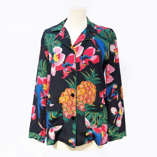 Valentino Tropical Dream-Print Shirt