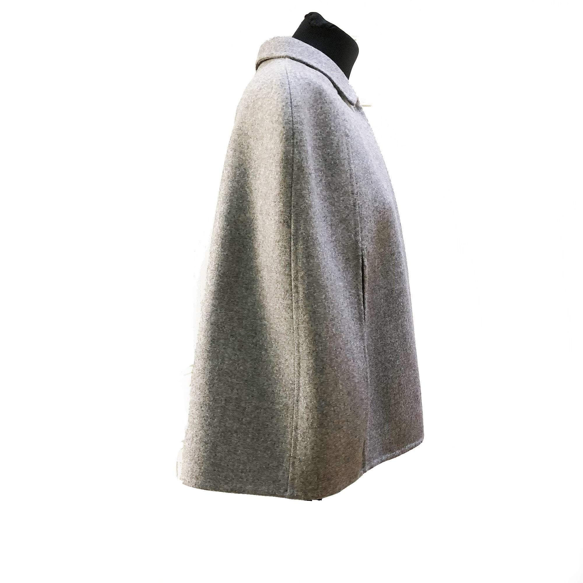 Valentino Wool Grey Cape