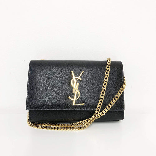 Yves Saint Laurent  Kate Small Monogram shoulder bag Gold Hardware
