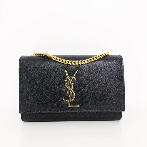 Saint Laurent  Kate Small Monogram shoulder bag Gold Hardware