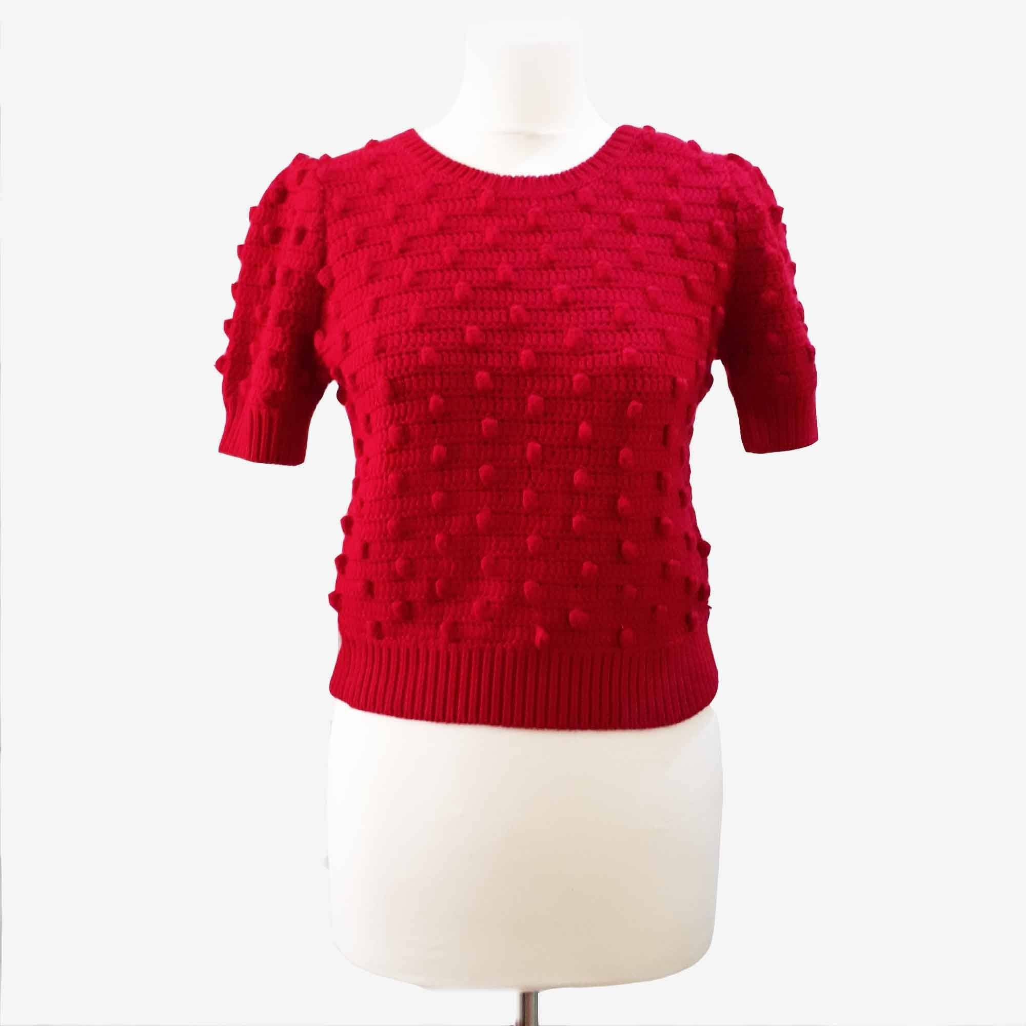 Alice + Olivia Red Sweater