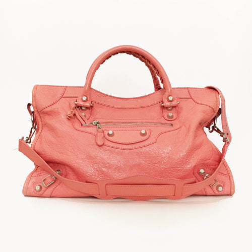 Balenciaga Classic City Peach Bag