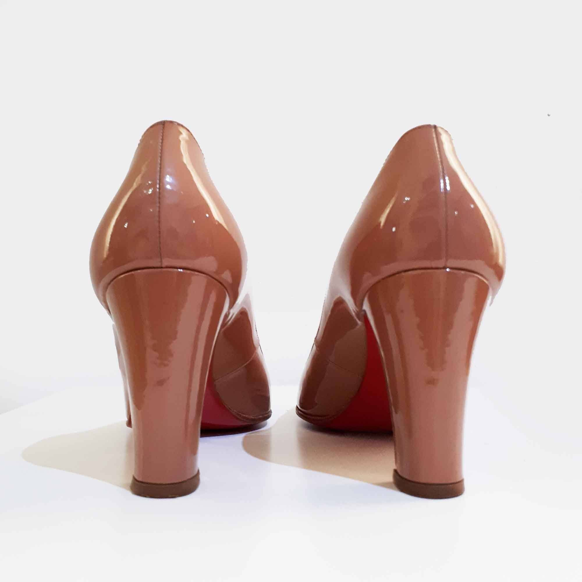6c0aab85be5 Christian Louboutin Cadrilla 100 Patent Leather – Garderobe