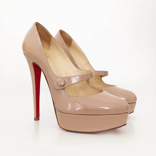 Christian Louboutin Round Toe Pumps