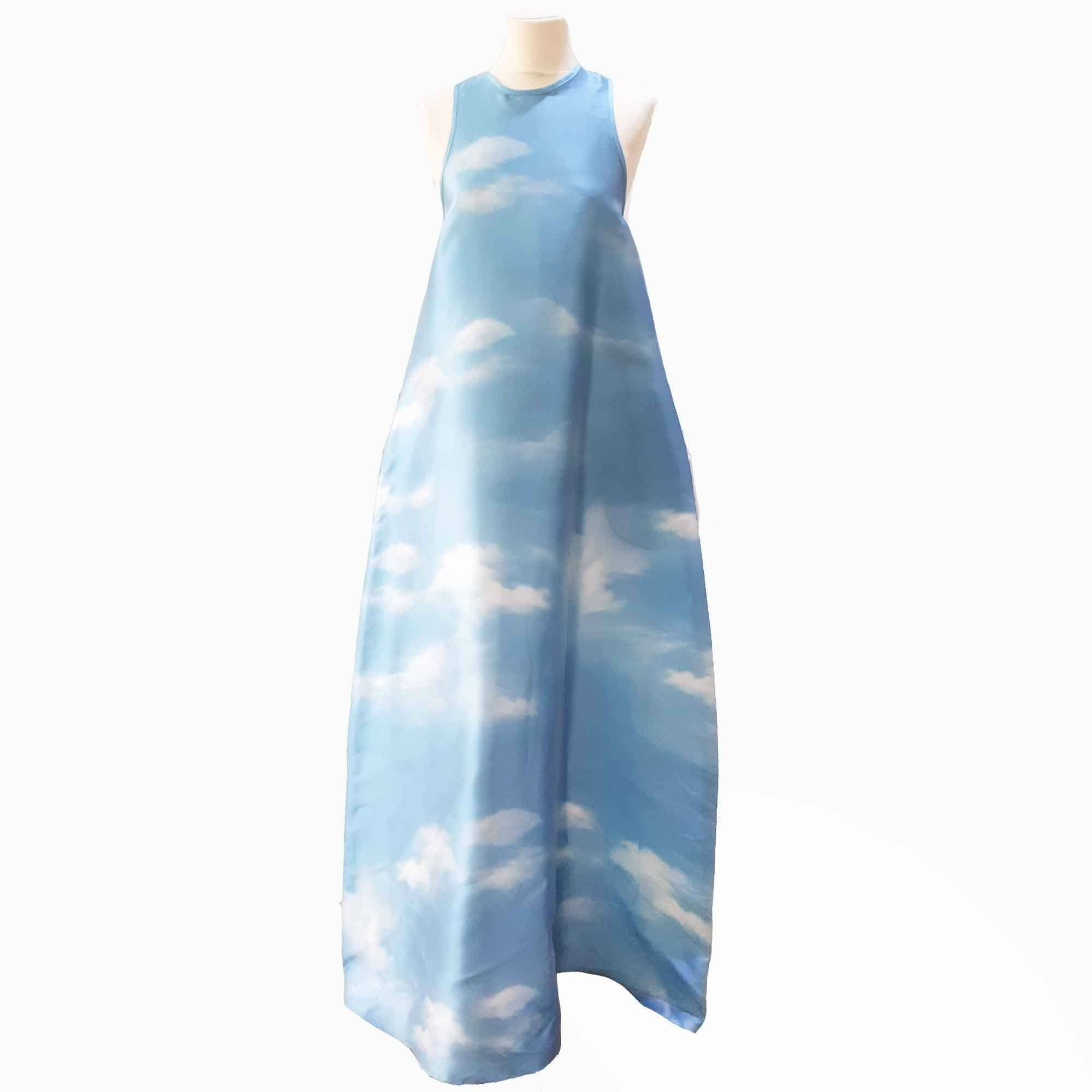 Paper London Sleeveless Blue Dress
