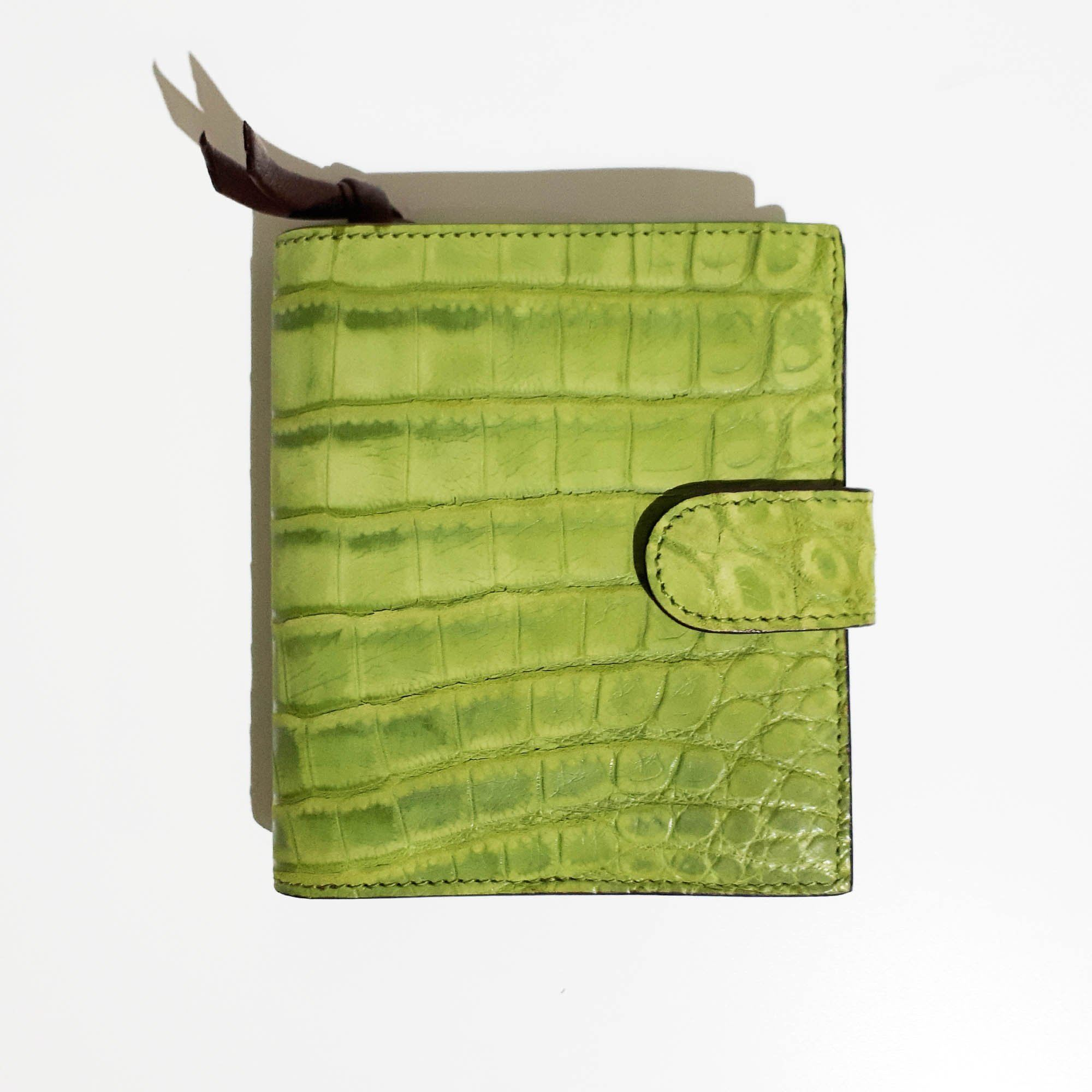 Bottega Veneta Crocodile Leather Wallet