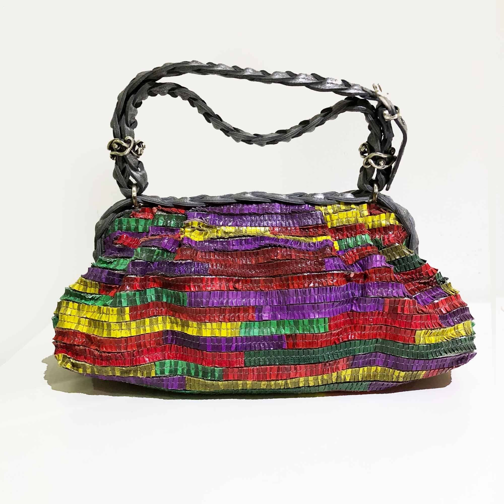 Bottega Veneta Limited Edition Multicolor Bag
