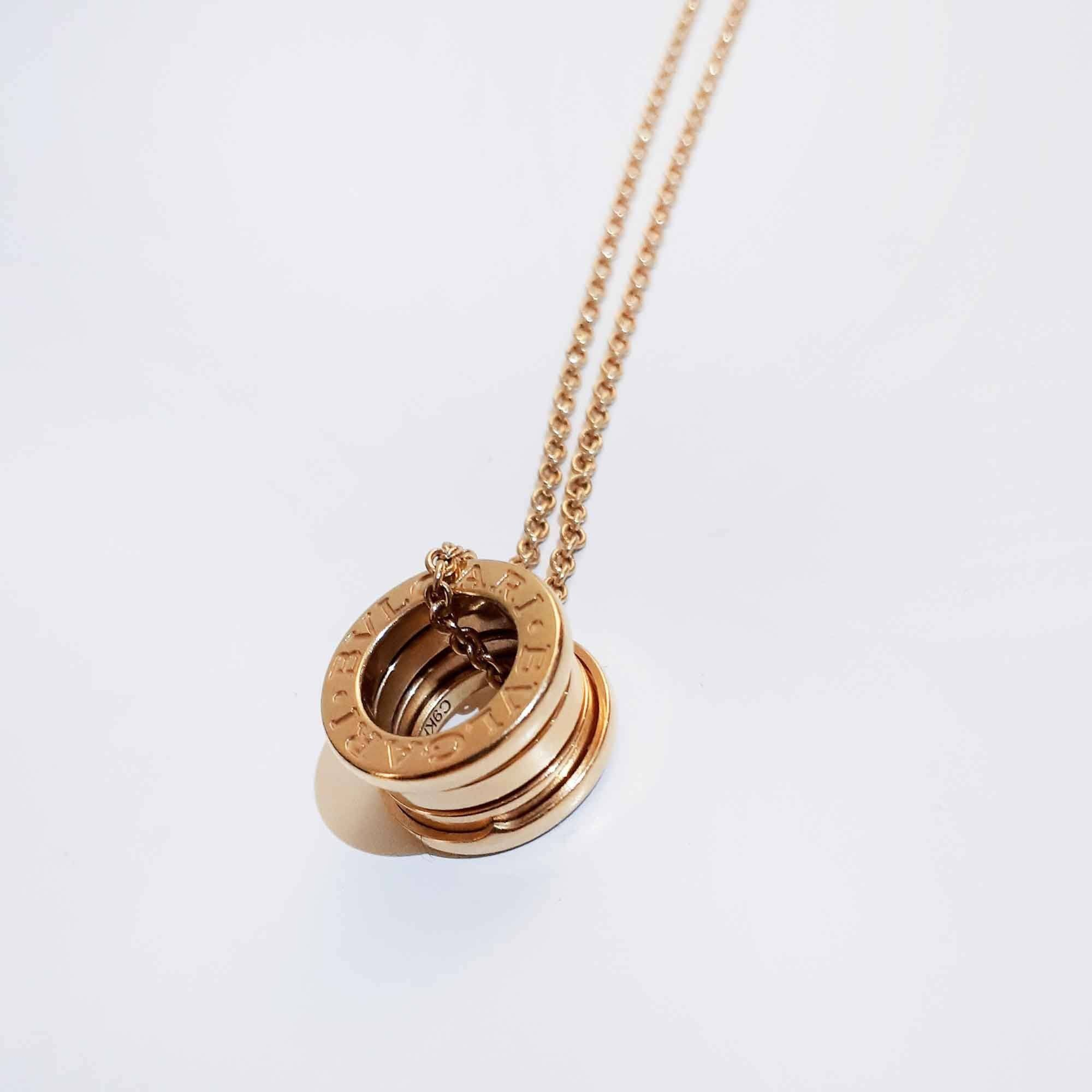 Bulgari Yellow-Gold B.zero1 Necklace