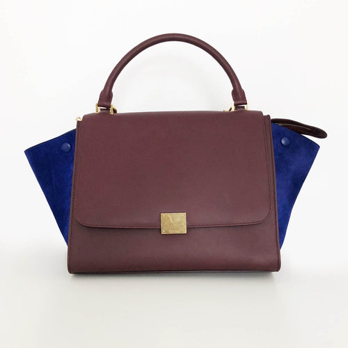 Celine Trapeze Two Tone Small Bag
