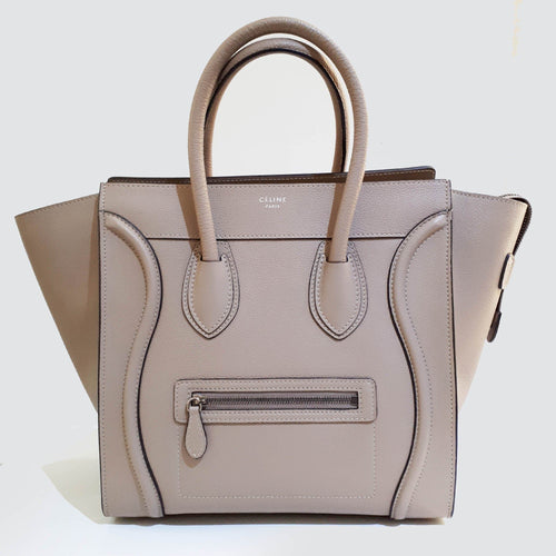 Celine Luggage Medium Tote Bag