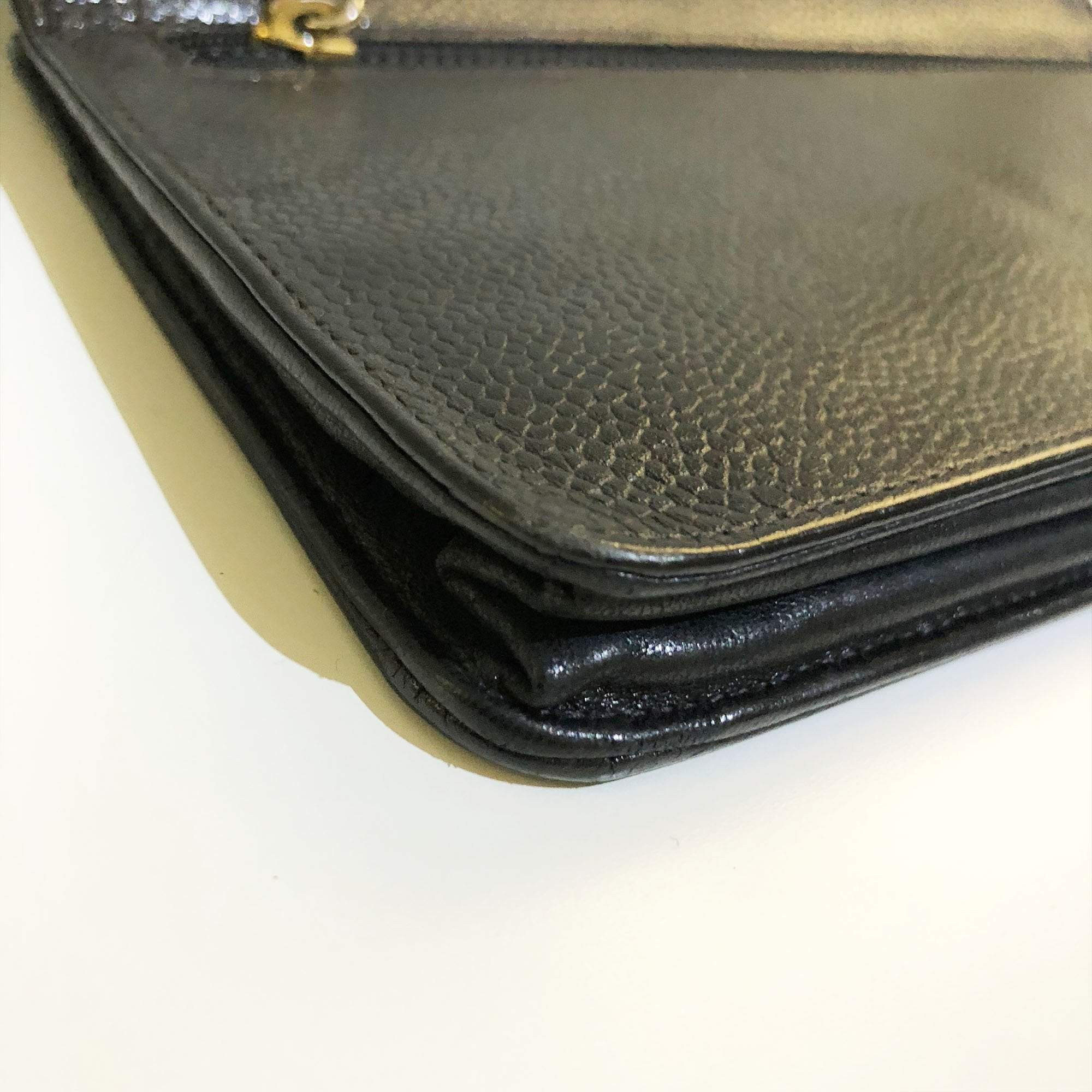 Chanel Timeless CC Wallet on Chain