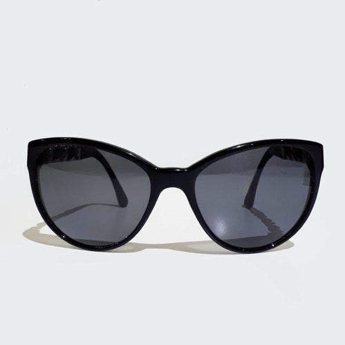 Chanel Sunglasses With Woven Chain Arms