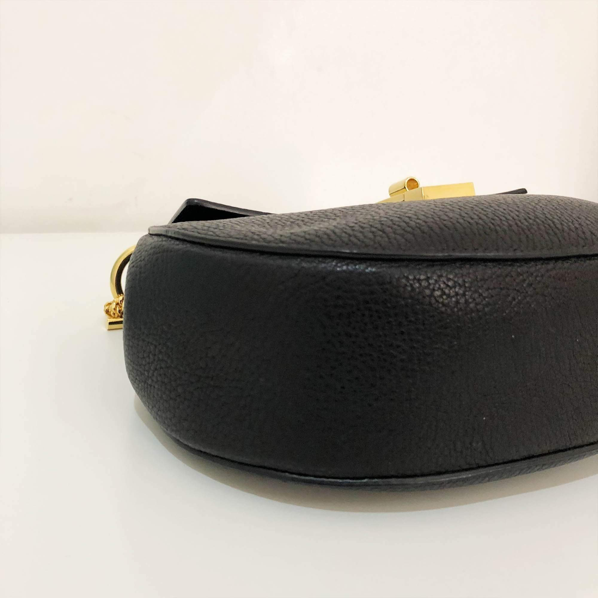 Chloé Black Small Drew Shoulder Bag