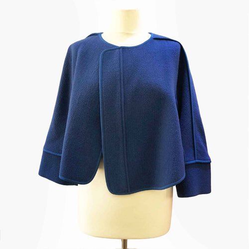 Chloé Collarless Meltonwool Jacket
