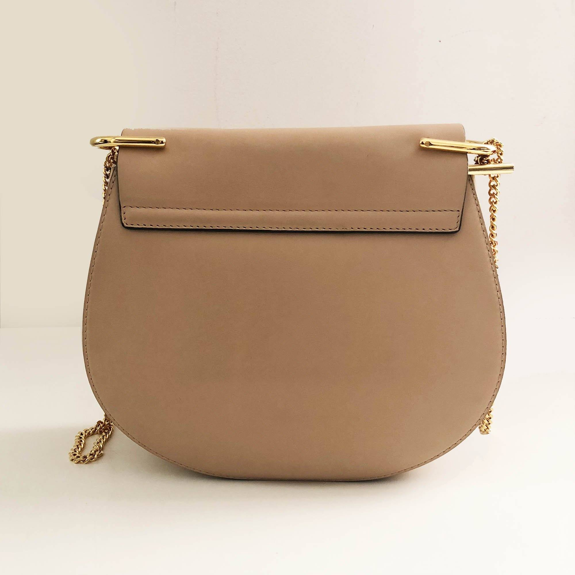 Chloé Drew Small Python Shoulder Bag