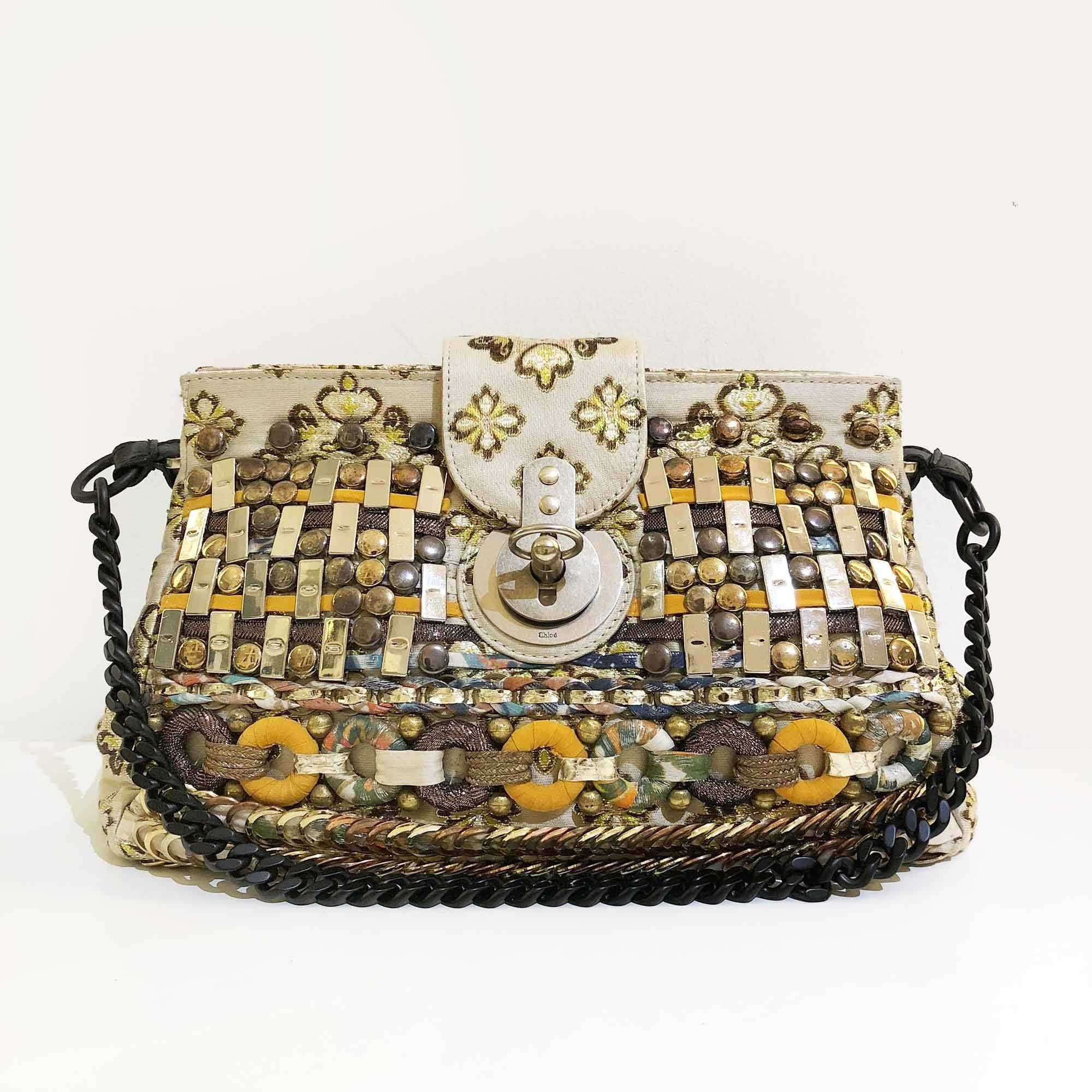 Chloe Limited Edition Beaded Bag