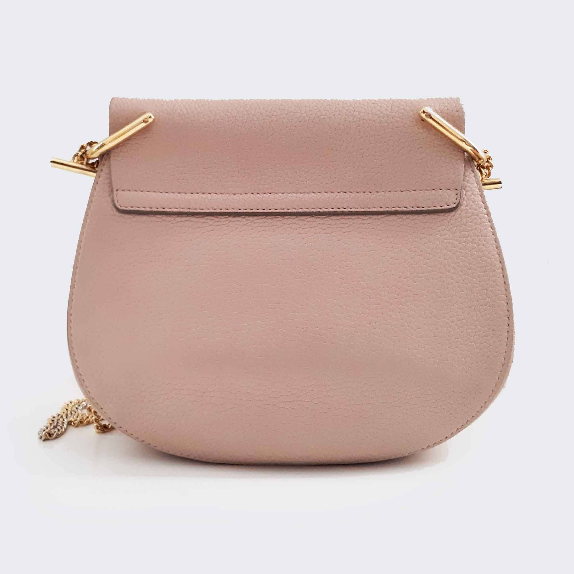 Chloé Light Pink Small Drew Shoulder Bag