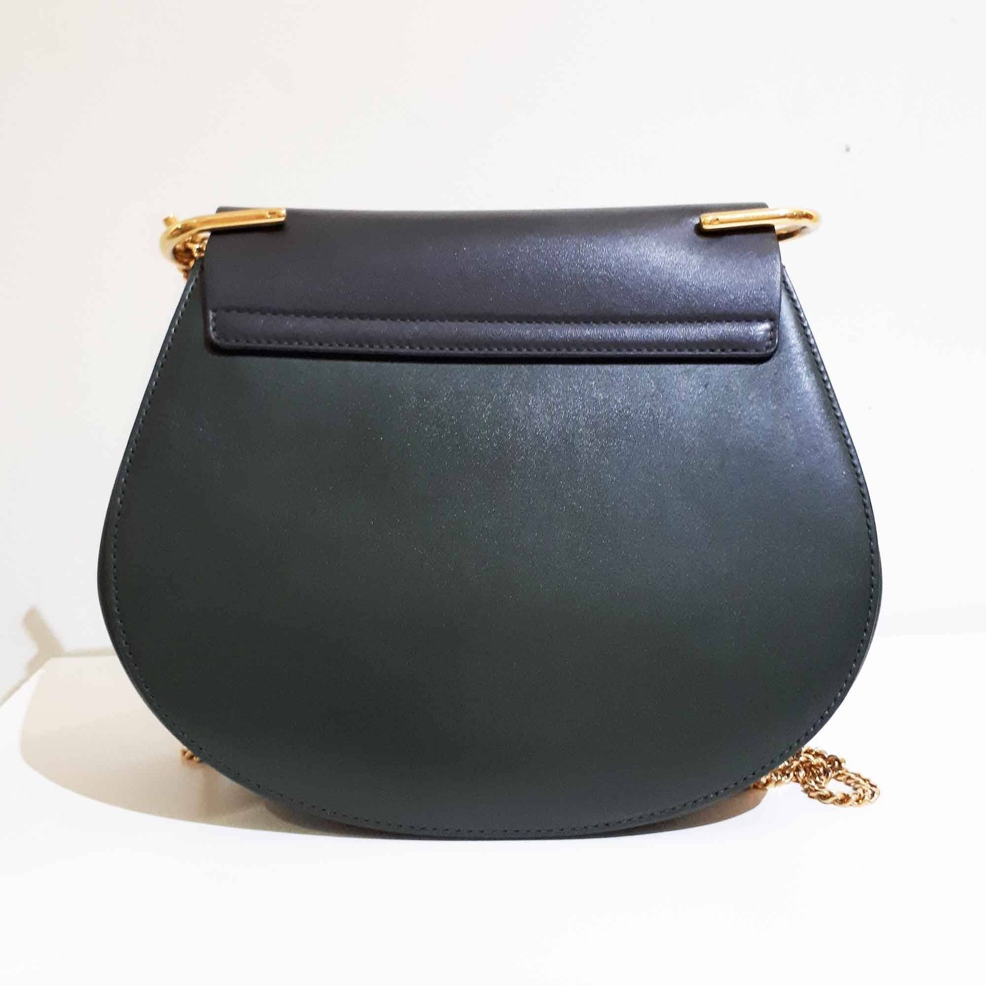 Chloé Two Tone Small Drew Shoulder Bag