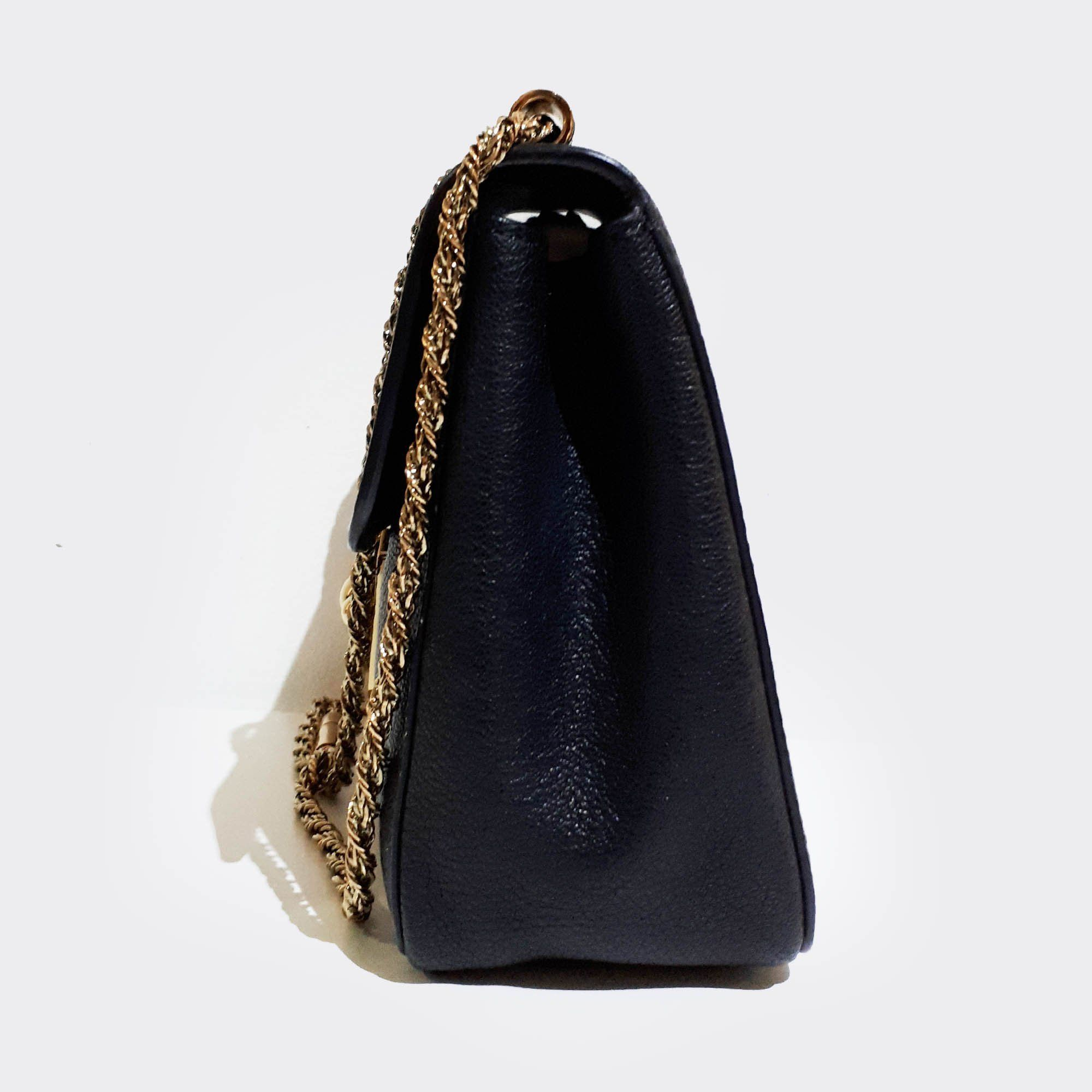 Chloé Elsie Small Black Bag