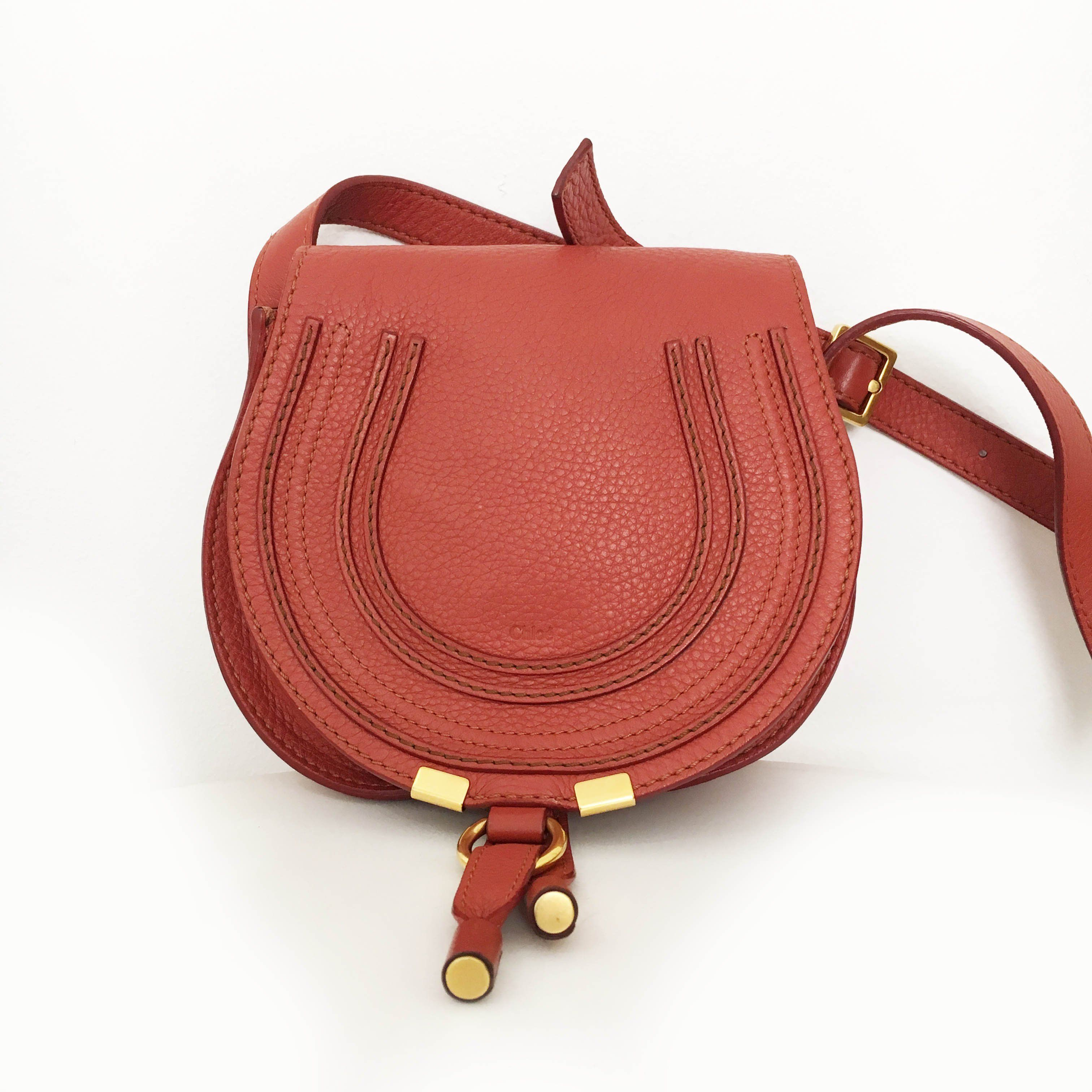 Chloé Marcie Small Leather Cross Body bag