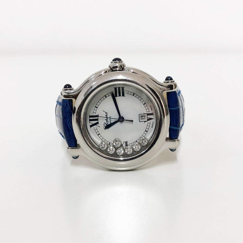 Chopard Blue Happy Sport Watch