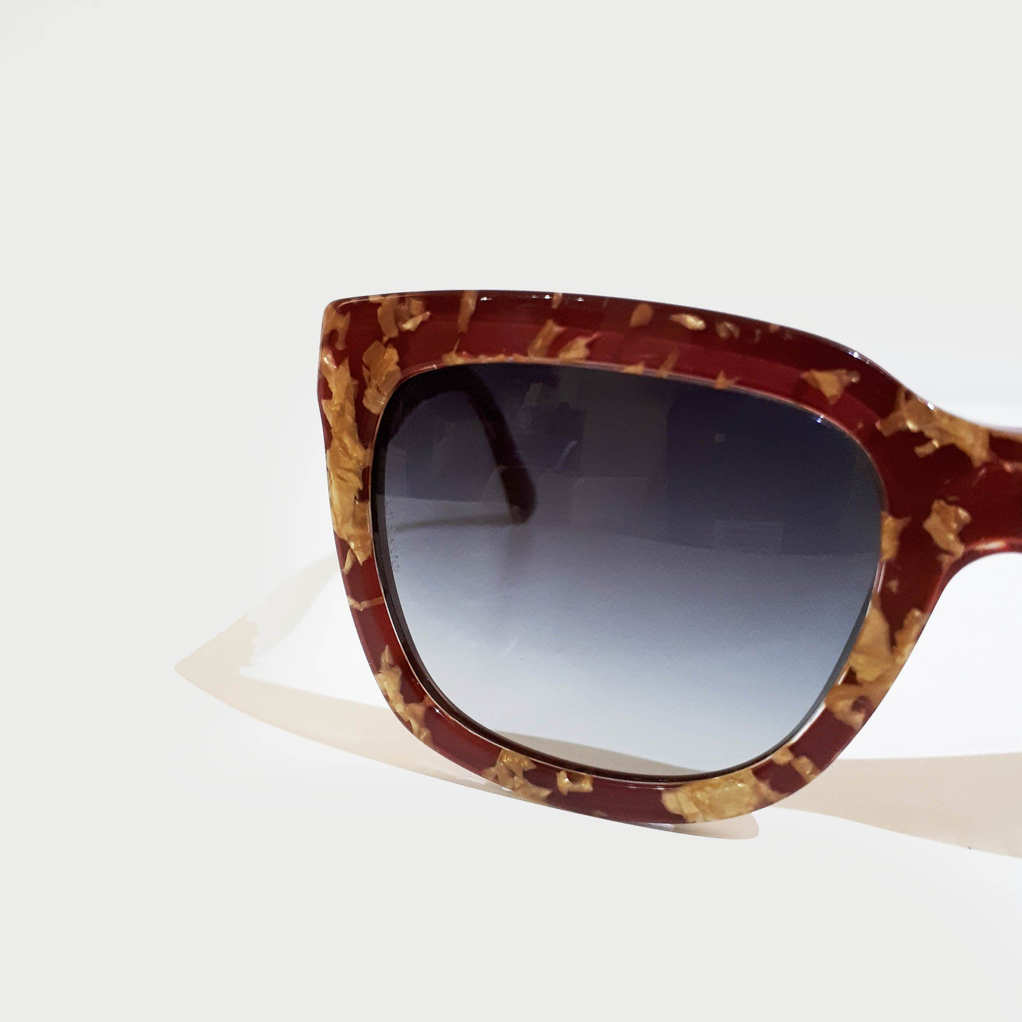 Dolce and Gabbana Gold Speckled Sunglasses