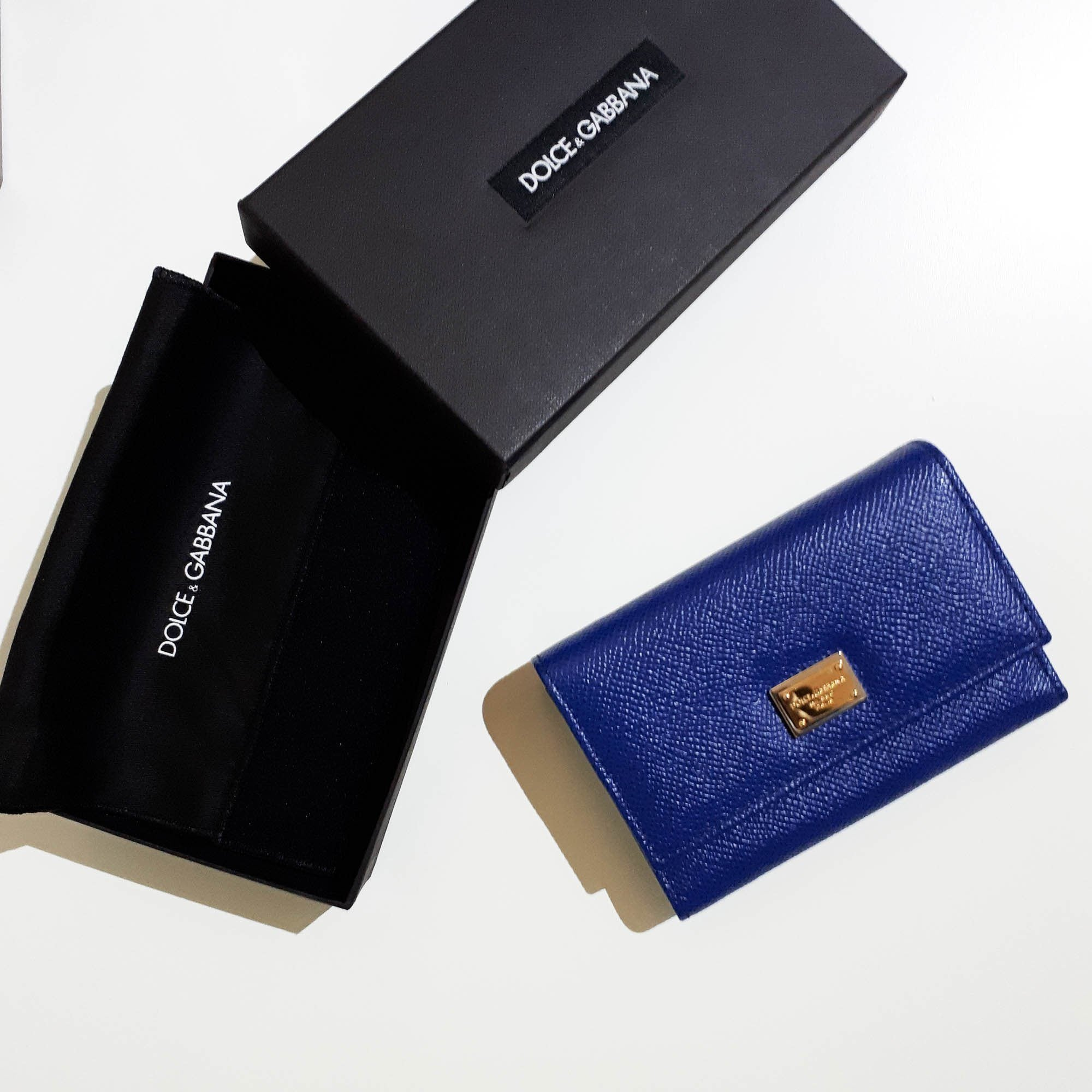 Dolce and Gabbana Blue Wallet