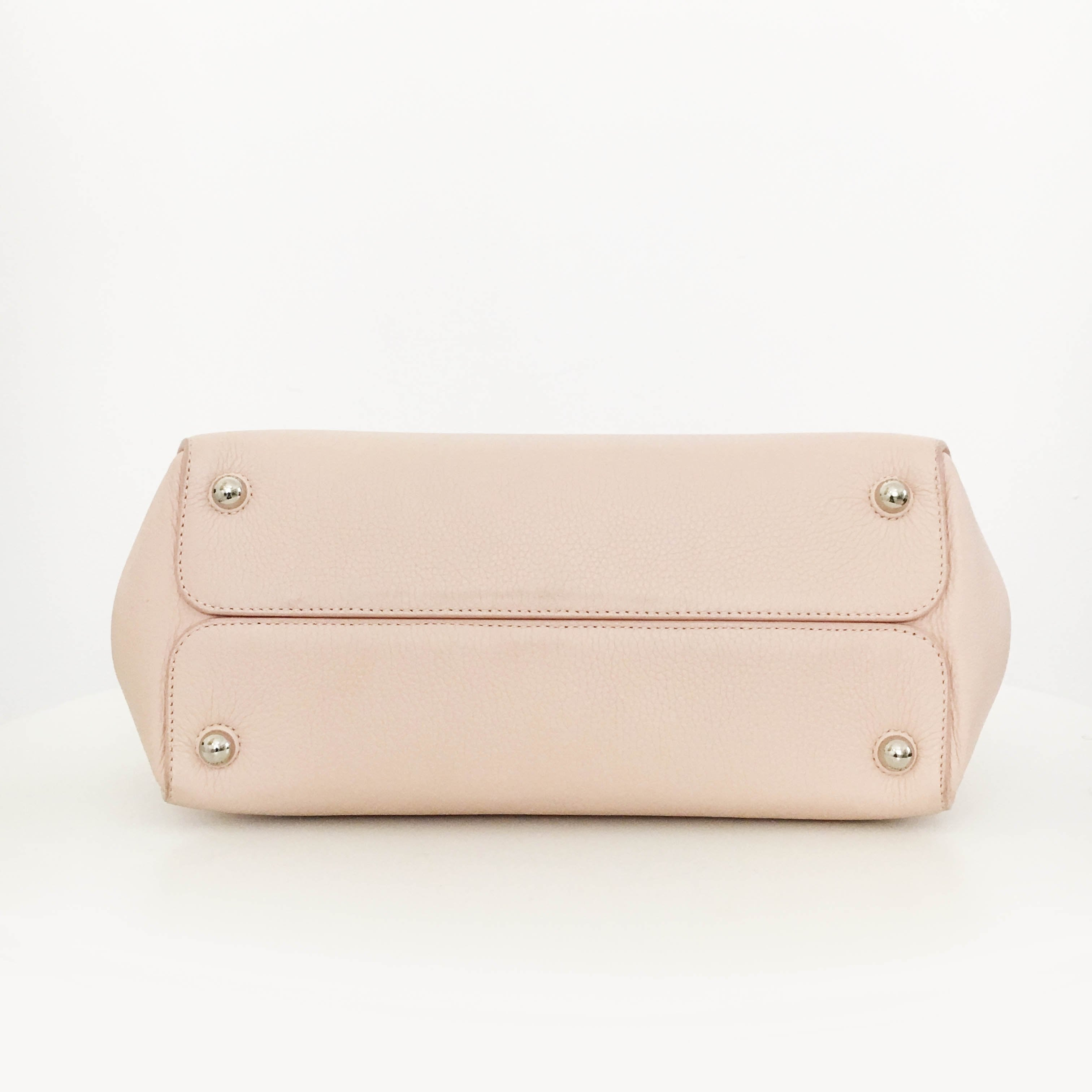 Christian Dior Baby Pink Bar Bag